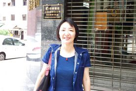 Isabel, tour guide from Taipei, Taiwan