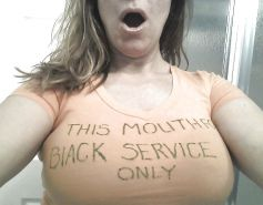 She loves being a Big Black Cock whore 3