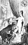 Erotic Drawings From The Past (Vintage) -L1390-
