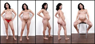 NUDE PREGNANT COLLAGES  (LL)