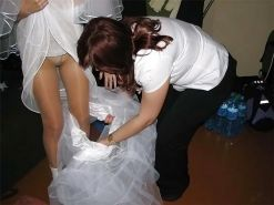 Brides - Wedding Voyeur Oops and Exposed #12558756