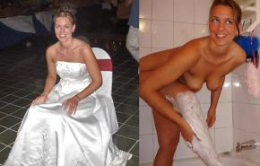 Brides - Wedding Voyeur Oops and Exposed #12558844