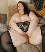 Mature BBWs in stockings II