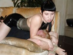 Femdom smother and facesit