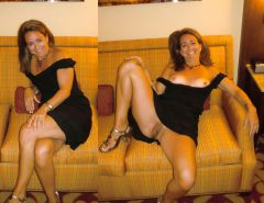 Mature milf dressed undressed 2 #10402906