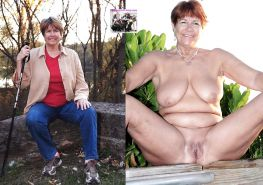 Mature milf dressed undressed 2 #10402937