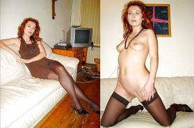 Mature milf dressed undressed 2 #10402941
