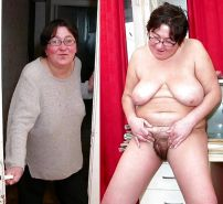 Mature milf dressed undressed 2 #10403005