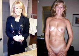 Mature milf dressed undressed 2 #10403059
