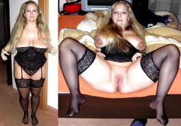 Mature milf dressed undressed 2 #10403107