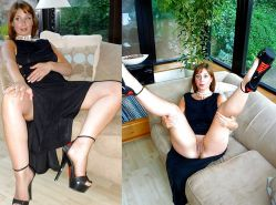 Mature milf dressed undressed 2 #10403169