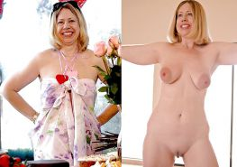 Mature milf dressed undressed 2 #10403176