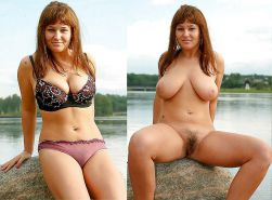 Mature milf dressed undressed 2 #10403184