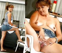 Mature milf dressed undressed 2 #10403193
