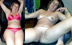 Mature milf dressed undressed 2 #10403238