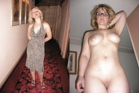 Mature milf dressed undressed 2 #10403319