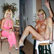 Mature milf dressed undressed 2 #10403379