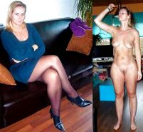 Mature milf dressed undressed 2 #10403398