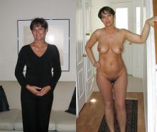 Mature milf dressed undressed 2 #10403405