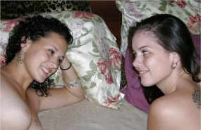 Stacy And Lara Are Very Sweet Lesbian Teens