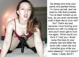 Femdom Chastity Captions Spike Porn Pics #15368687