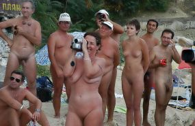 Mature Beach Nudists
