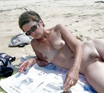 Nudist beach mature hairy