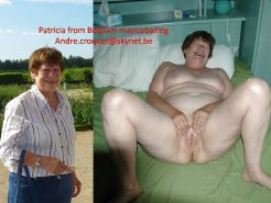 Mature Exhibitionist Wife Dressed Undressed