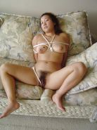 Bound Busty Asian