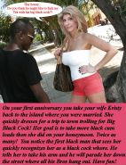 Interracial whore wife