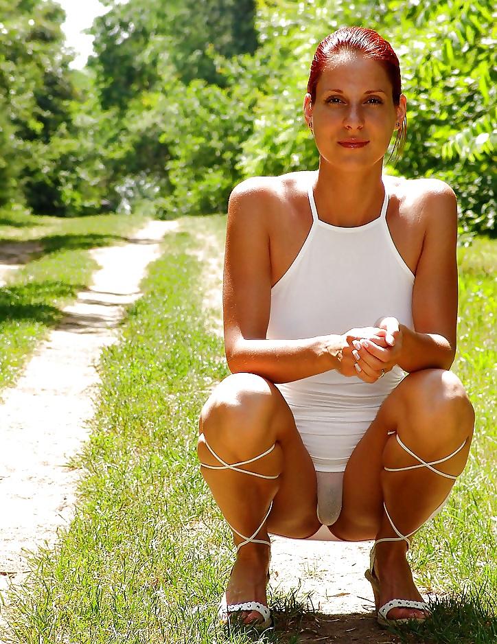 Upskirt No Panties #rec Amateur showing pussy PublicNudity 4 Porn Pics #10309398