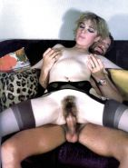 Vintage sex in nylon stockings 016