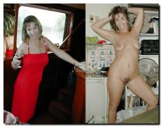 Dressed undressed MILF part 6