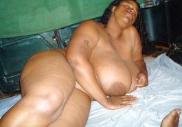 Big Fat Black Saggy Juggs