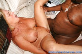 Granny Interracial Action