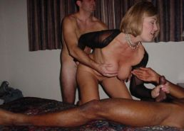 Thick MILF's getting doggy-dicked Porn Pics #1370654