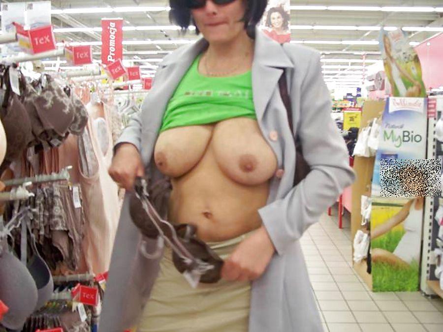 Shopping and flashing ( store voyeur ) Porn Pics #13272092