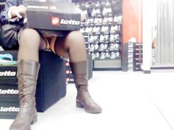 Shopping and flashing ( store voyeur ) #13271460