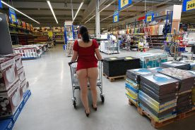 Shopping and flashing ( store voyeur ) #13271557