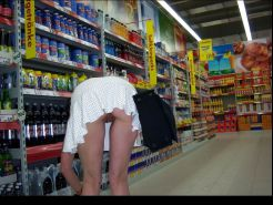 Shopping and flashing ( store voyeur ) #13271595