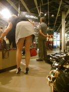 Shopping and flashing ( store voyeur ) #13271741