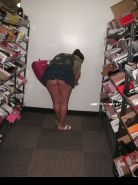 Shopping and flashing ( store voyeur ) #13271841