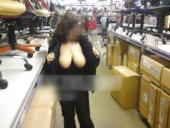 Shopping and flashing ( store voyeur ) #13271854