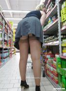Shopping and flashing ( store voyeur ) #13271905