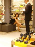Shopping and flashing ( store voyeur ) #13271961