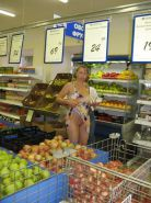 Shopping and flashing ( store voyeur ) #13272000