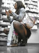 Shopping and flashing ( store voyeur ) #13272057