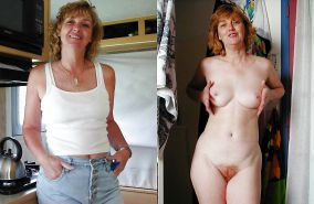 Sexy MILFS and Matures 35 (Dressed and undressed)
