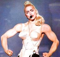 Fakes Muscular Madonna
