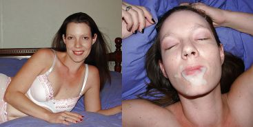 Before and after cumshots Porn Pics #4715814